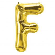PBN59506 - 16In Foil Balloon Gold Letter F in Accessories