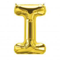 PBN59512 - 16In Foil Balloon Gold Letter I in Accessories