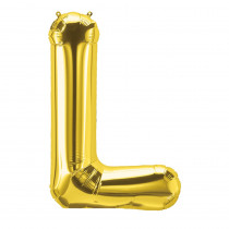 PBN59518 - 16In Foil Balloon Gold Letter L in Accessories