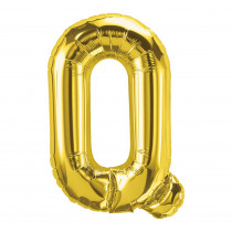 PBN59528 - 16In Foil Balloon Gold Letter Q in Accessories
