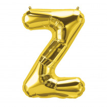 PBN59546 - 16In Foil Balloon Gold Letter Z in Accessories