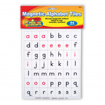 PC-1421 - Magnetic Alphabet Tiles in Magnetic Letters