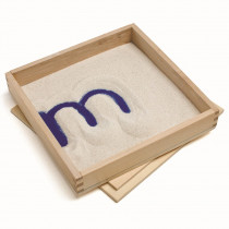 PC-2011 - Letter Formation Sand Tray in Sand & Water