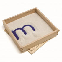 PC-2012 - Letter Formation Sand Trays 4 Set in Sand & Water