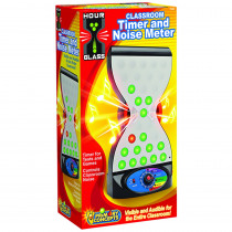 PC-7500 - Hourglass 2 In 1 Classroom Timer And Noise Controller in Timers