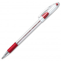 PENBK90B - Pentel Rsvp Red Fine Point Ballpoint Pen in Pens