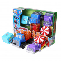 Magnetic Build-a-Truck County Fair - PPY60403 | Popular Playthings | Vehicles
