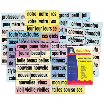 Adjective Attack Card Set, French - PSZP165 | Poster Pals | Flash Cards