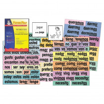 Verb Attack Card Set, Spanish - PSZP255 | Poster Pals | Flash Cards