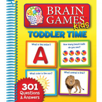 Brain Games Kids: Big Toddler Time - PUB7624603 | Hachette Book Group | Games