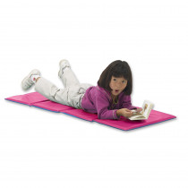 PZ-TBP203 - Toddler Kindermat Blue/Pink With Pillow Section in Mats