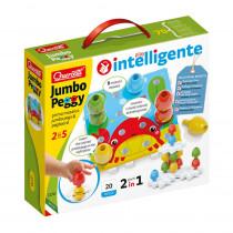 Jumbo Pegs, Small - QRC2270 | Quercetti Usa Llc | Pegs