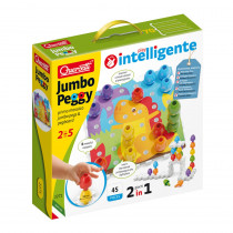 Jumbo Pegs, Medium - QRC2271 | Quercetti Usa Llc | Pegs