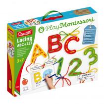 Lacing ABC + 123 - QRC2808 | Quercetti Usa Llc | Lacing