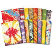 R-15263 - Tie Dye Paper 16 Designs in Craft Paper