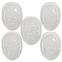 R-52009 - Face Forms 10/Pk in Clay & Clay Tools