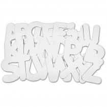 R-52020 - Collage Letters 9 in Wooden Shapes