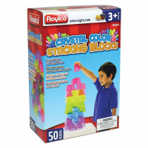 R-60310 - Crystal Color Stacking Blocks in Manipulatives
