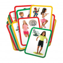 R-62012 - Busy Body Gross Motor Exercise Cards in Hands-on Activities