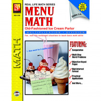 REM101B - Menu Math Ice Cream Parlor Book-2 Multi in Money