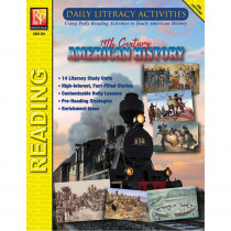 Daily Literacy Activities: 19th Century American History Reading - REM391 | Remedia Publications | History
