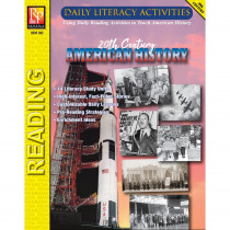 Daily Literacy Activities: 20th Century American History Reading - REM392 | Remedia Publications | History