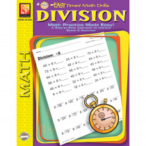 REM5012D - Easy Timed Math Drills Division in Multiplication & Division
