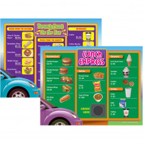 REM602A - Drive Thru Menu Math 6Pk Extra Menus Gr 3 in Money