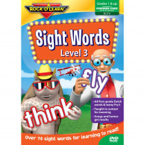RL-213 - Sight Words Level 3 Dvd in Sight Words