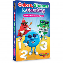 RL-312 - Rock N Learn Colors Shapes & Counting Board Book in Math