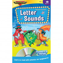 RL-911 - Letter Sounds Cd + Book in Books W/cd
