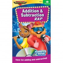RL-918 - Addition & Subtraction Rap Cd/Book in Cds