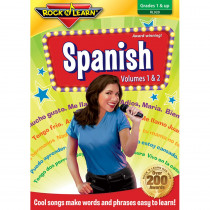 RL-920 - Rock N Learn Spanish Dvd Volume I & Volume Ii in Videos