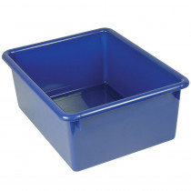 ROM16104 - 5In Stowaway Letter Box Blue No Lid 13 X 10-1/2 X 5 in Storage Containers