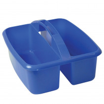 ROM26004 - Large Utility Caddy Blue in Storage Containers