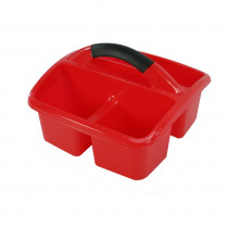 Deluxe Small Utility Caddy, Red - ROM26902 | Romanoff Products | Storage Containers