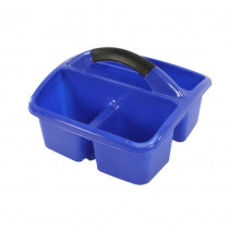Deluxe Small Utility Caddy, Blue - ROM26904 | Romanoff Products | Storage Containers