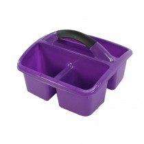 Deluxe Small Utility Caddy, Purple - ROM26906 | Romanoff Products | Storage Containers