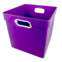 ROM72506 - Cube Bin Purple in Storage