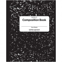 ROS37101 - Composition Notebook 100 Ct 9.75 X 7.5 in Note Books & Pads