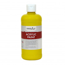 RPC101010 - Acrylic Paint 16 Oz Chrome Yellow in Paint