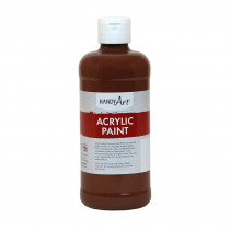 RPC101085 - Acrylic Paint 16 Oz Burnt Sienna in Paint