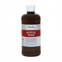 RPC101090 - Acrylic Paint 16 Oz Burnt Umber in Paint