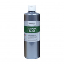 RPC231166 - 16Oz Metallic Silver Tempera Paint Handy Art in General