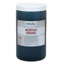 Acrylic Black Gesso 32 oz - RPC440103 | Rock Paint / Handy Art | Paint