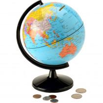 "Hemispheres Globe 5.6 Coin Bank - RWPCB01 | Waypoint Geographic | Novelty"""