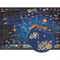 RWPDM006 - Childrens Map Of The Solar System in Maps & Map Skills