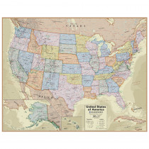 Hemispheres Boardroom Series United States Laminated Wall Map - RWPHM04 | Waypoint Geographic | Maps & Map Skills