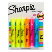 SAN25876PP - Sharpie Tank 6 Count Asst Carded in Highlighters