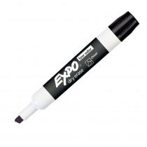 SAN80001 - Expo 2 Low Odor Dry Erase Marker Chisel Tip Black in Markers